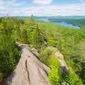 View from the fire tower.- 15 Must-see Fall Foliage Adirondack Adventures
