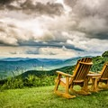 Spending the day adventuring on the Blue Ridge Parkway? Grab lunch at the Pisgah Inn and take a moment to watch the storms roll in. - A Guide to Leaf-peeping Weekends in the Blue Ridge Mountains