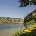 The north end of Discovery Park has a small beach area that is great for paddling.- 13 Epic Microadventures Near Boise