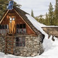 Peter Grubb Ski Hut, Lake Tahoe, California.- 45  Cozy Cabins and Lodges for your Winter Getaway