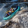 Rafters on the race line at Crystal.- Whitewater Paddling The Northeast Classics