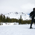 Snowshoeing near Mount Shasta (14,179 ft).- How to Pick the Right Snowshoe