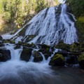 Diamond Creek Falls is a unique falls worth exploring.- Diamond Creek Falls