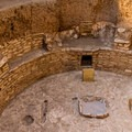 Kiva attached to a pit house on Chapin Mesa.- Mesa Verde National Park
