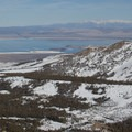 View from Dunderberg Peak. Mono Lake with the White Mountains in the background.- Seven Largest National Forests