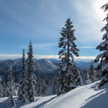 Looking south over the Valhalla Basin at the Stuart Range. - How to Pick the Right Snowshoe