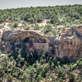 View of Balcony House in Mesa Verde National Park.- Favorite Family-friendly Hikes in U.S. National Parks