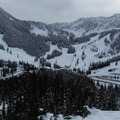 First full view of the Stevens Pass Resort from the trail to Skyline Lake.- Washington's Best Winter Destinations