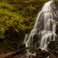 Fairy Falls is one of the most beautiful falls in the gorge.- Wahkeena Falls/Multnomah Falls Loop Hike