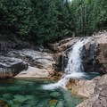 View of Gold Creek Falls from the first lookout. - 20 Amazing Adventures Near Vancouver, B.C.