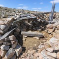 Follow signs to take a quick detour to Lookout Cabin just about 100 yards off the trail.- Medicine Bow Peak Loop