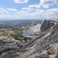 Views from the Medicine Bow Peak summit.- Medicine Bow Peak Loop