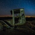 Vast night skies at the Berlin-Ichthyosaur State Park in Nevada.- State and County Parks and Forests
