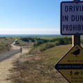 Gearhart Beach access from the Pacific Way entry.- Dog Etiquette on the Oregon Coast
