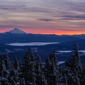 Mount Jefferson as viewed from the Timberline Ski Area.- 30 Must-Do Adventures in Oregon