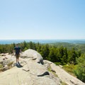 Be sure to make frequent stops to enjoy the views to the south.- Cadillac Mountain South Ridge Trail