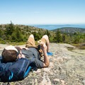 Pack a lunch to enjoy at the top of Cadillac Mountain, you won't regret it!- Outdoor Project Staff Picks: 10 Favorite Hikes in New England