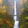 Multnomah Falls and Benson Bridge.- The West's 100 Best Waterfalls