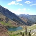 Deer Lake from Deer Creek Pass along the Four Lakes Loop.- Our 10 Favorite Dog-Friendly Backpacking Trips