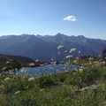 Diamond Lake in the Trinity Alps.- Under-the-radar Wildflower Spotting