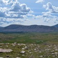 Looking south from Gunsight Pass into Painter Basin.- Where to Hike In Utah's Uinta Mountains