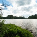 A view of Rollins Pond.- 10 Amazing Camping Spots in the Adirondacks