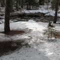 Chiwaukum Creek from the road.- Amazing Snowshoe Trails in Washington