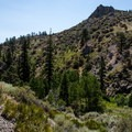 Views from the Hunter Creek trail.- Seven Largest National Forests
