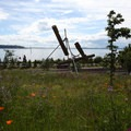 Bunyon's Chess, by artist Mark di Suvero, at Olympic Sculpture Park.- City Parks You Definitely Need to Visit