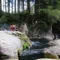 Naked Falls on the Washougal River.- Washington's 50 Best Swimming Holes