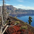 One of the most unique lake vantages from the rim of Wizard Island.- 8 Ways to Experience Crater Lake National Park