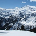 Mount Baker (10,781 ft) standing tall to the west from the trail to Artist Point.- Washington's Best Winter Destinations
