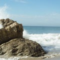 Lots of large boulders to be found along Mesa Lane.- Best of Santa Barbara: Beaches, Camping, Parks, and Trails
