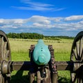Cannon view of Manassas National Battlefield.- Step Back in Time at These Amazing Historic Sites