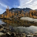 Leprechaun Lake in Alpine Lakes Wilderness.- Wander Among Wilderness Areas