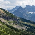 Idyllic vistas from the trail to the Garden Wall.- A Weekend in Glacier National Park