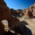 Hikers are permitted to wander off the trails.- Badlands National Park