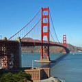 The Fort Point military fortification below the Golden Gate Bridge.- Adventure in the City: San Francisco