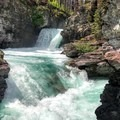 Saint Mary Falls.- Glacier National Park