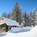 The Donner Memorial State Park cross-country ski trail begins immediately behind the parking entrance kiosk, located 100 yards west of the visitor center.- 5 Reasons to Visit Truckee in the Winter