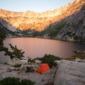 A great site at Sapphire Lake.- 30 Alpine Lakes You Should Visit This Summer