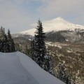 Mount Hood (11,249 ft) seen from one of the many Barlow Ridge viewpoints.- 10 Winter Huts You Should Visit