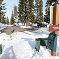 Unless there was a recent storm that brought a lot of fresh snow, the parking area and trailhead at the top of Glacier Way is easy to spot. Overflow parking is available at the end of Glacier Way in the cul-de-sac. - 5 Reasons to Visit Truckee in the Winter