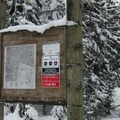 Frog Lake Trailhead signage.- 22 Must-do Snowshoe Trails in the West