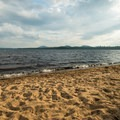 Golden sand on the beach.- 12 New York Lakes Perfect for Summer Adventure