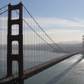 A Golden Gate bridge vista from Battery Spencer. - Our Ultimate West Coast Road Trip