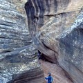 Mellow hiking in Willis Creek Slot Canyon, Utah.- Intro to Canyoneering: Tips + Gear