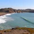 Surfing at Rodeo Beach.- California's Best Beaches