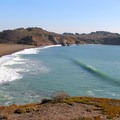 Surfing at the north end of Rodeo Beach.- Beat the Heat: 20 Summer Escapes Near San Francisco