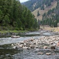 Sunbeam Hot Springs along the Salmon River, Idaho, on the edge of the River of No Return Wilderness.- Plunge Into Swimming Holes